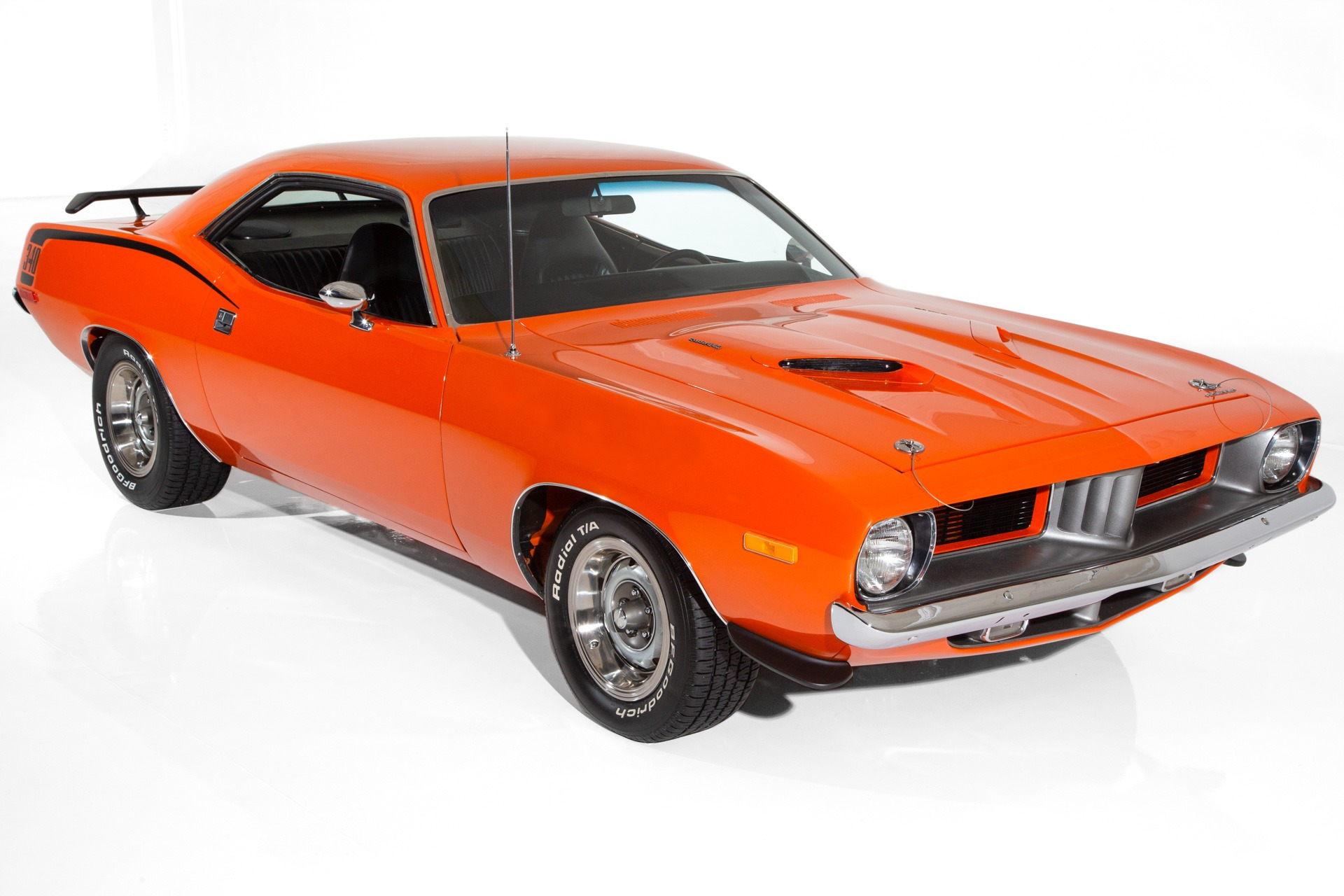 For Sale Used 1973 Plymouth Cuda 340ci 4-Speed BS Code Cuda | American Dream Machines Des Moines IA 50309