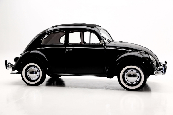 For Sale Used 1957 Volkswagen Beetle Full Sunroof | American Dream Machines Des Moines IA 50309