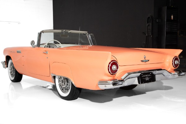 For Sale Used 1957 Ford Thunderbird Coral 312 Port Hole Top | American Dream Machines Des Moines IA 50309