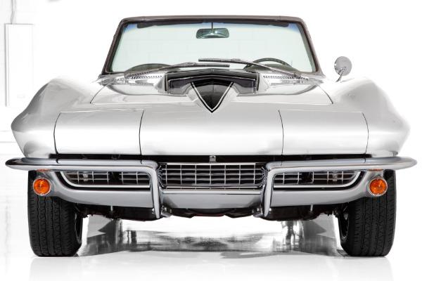 1966 Chevrolet Corvette Silver/Black 4-Speed