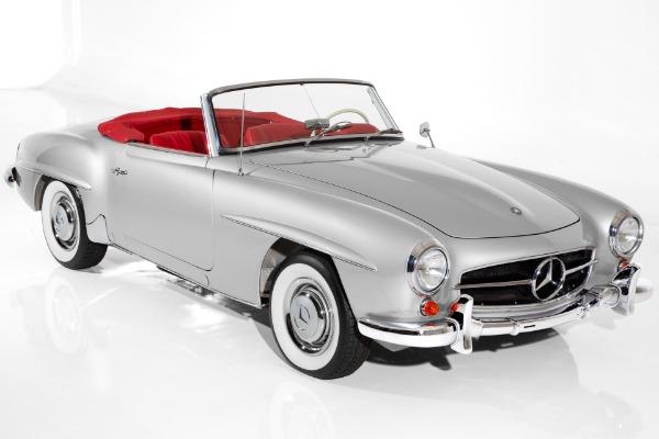 1959 Mercedes-Benz 190SL Stunning  Silver/Red Leather Interior, 1.9L 4-Speed