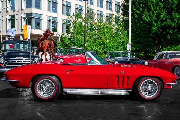 For Sale Used 1966 Chevrolet Corvette Big Block 4-Speed, AC | American Dream Machines Des Moines IA 50309