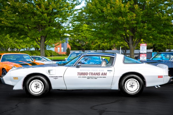 For Sale Used 1980 Pontiac Trans Am Pace Car 301-4v 4.9L Turbo | American Dream Machines Des Moines IA 50309