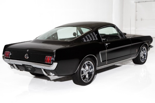 For Sale Used 1965 Ford Mustang Black/Black 351ci  5-Speed | American Dream Machines Des Moines IA 50309