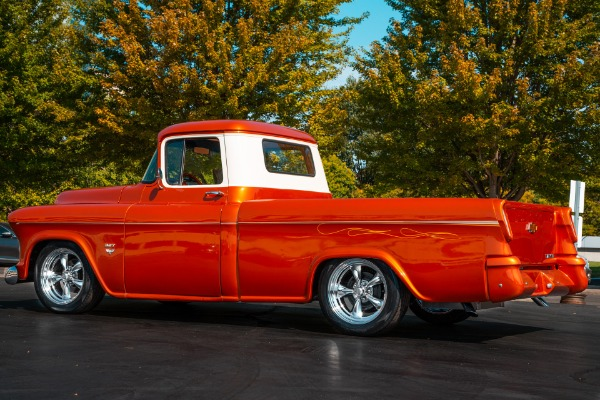 For Sale Used 1955 Chevrolet Pickup Show Truck AC Cameo Bed | American Dream Machines Des Moines IA 50309