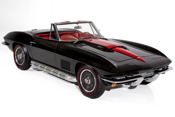 1967 Chevrolet Corvette New Jet Black Paint