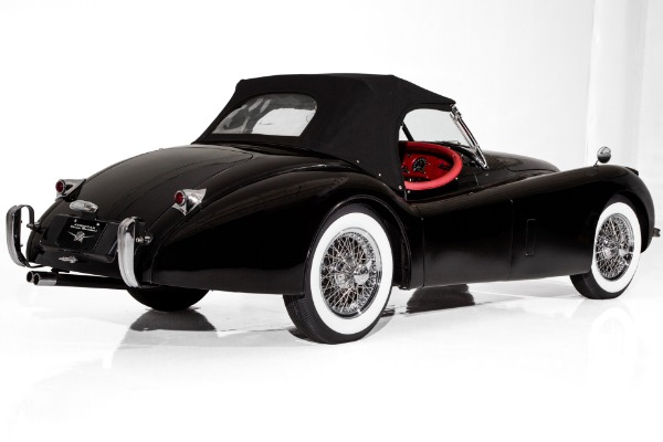 For Sale Used 1954 Jaguar XK120SE Stunning Black/Red SE | American Dream Machines Des Moines IA 50309