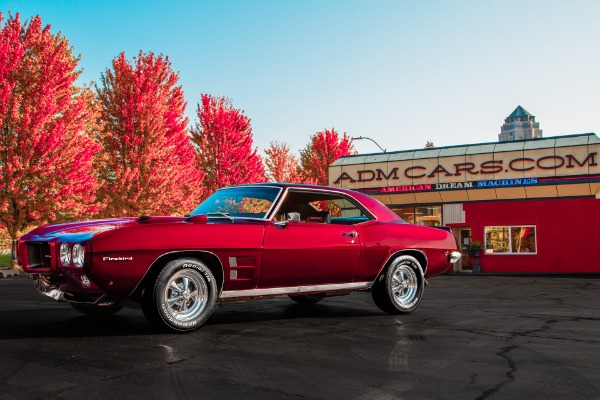 For Sale Used 1969 Pontiac Firebird Rotisserie Restoration | American Dream Machines Des Moines IA 50309