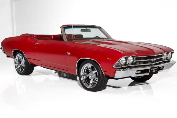 1969 Chevrolet Chevelle Red/Red RamJet 502