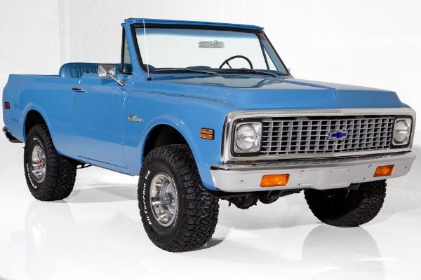 1972 Chevrolet Blazer 4X4 K5 350 Auto, PS PB