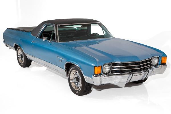 1972 Chevrolet El Camino 350 Auto, PS, PB, AC
