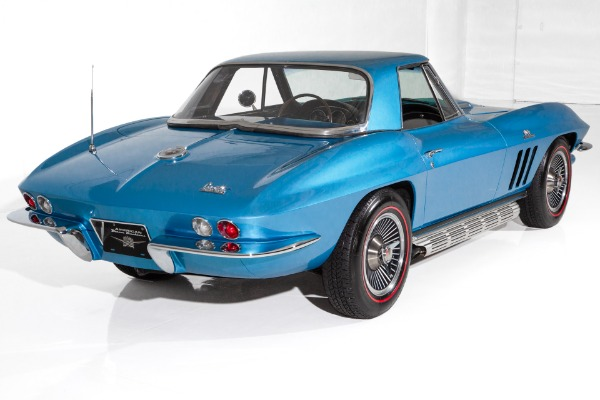 For Sale Used 1966 Chevrolet Corvette Lemans Blue 427/390hp | American Dream Machines Des Moines IA 50309