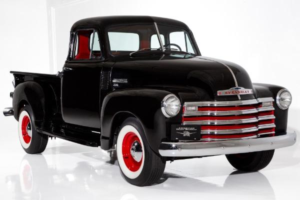 1951 Chevrolet Pickup 5-Window 3100 Black/Red
