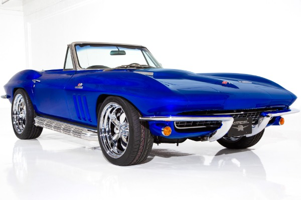 1966 Chevrolet Corvette Electric Blue Stingray