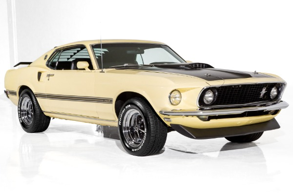 1969 Ford Mustang Mach 1, 390 S-Code, Marti