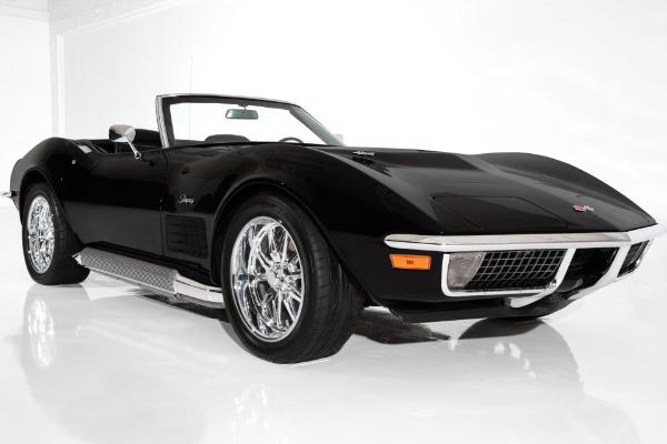 1971 Chevrolet Corvette Triple Black Stingray