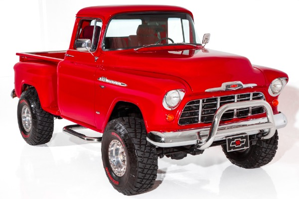 1955 Chevrolet Pickup Big Red! 4x4 350/375hp AC