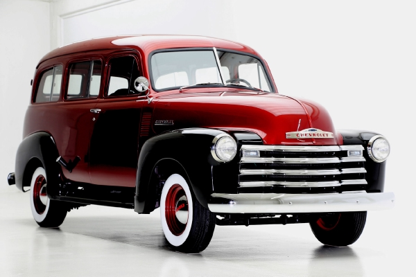 1951 Chevrolet Suburban 3100 Bordeaux