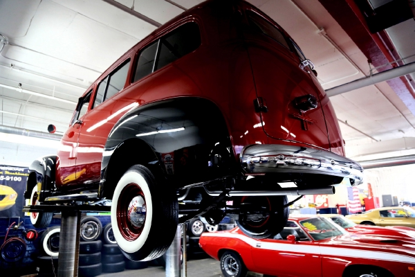 For Sale Used 1951 Chevrolet Suburban 3100 Bordeaux | American Dream Machines Des Moines IA 50309