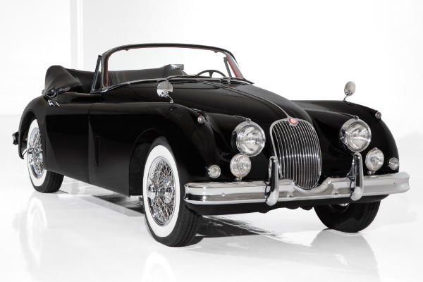1959 Jaguar XK150 Rare Black & Red Drop Head Coupe