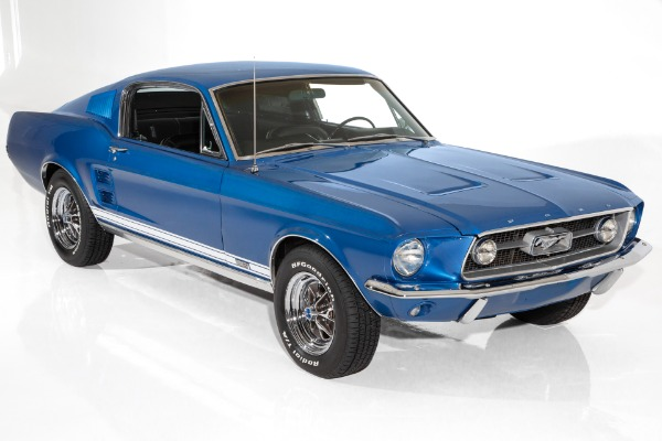 1967 Ford Mustang A-Code, 289, Auto, PDB, PS