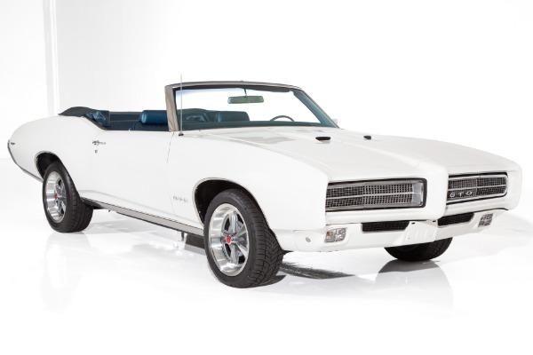 1969 Pontiac GTO #s Matching 400ci, 4-Speed