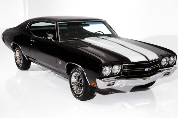 1970 Chevrolet Chevelle SS 396 Frame-Off 4-Speed