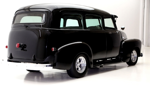 For Sale Used 1951 Chevrolet Suburban Black ProTour 350 AC | American Dream Machines Des Moines IA 50309