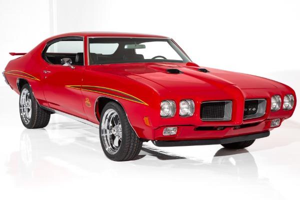 1970 Pontiac GTO 400 4-Speed AC Judge Accents