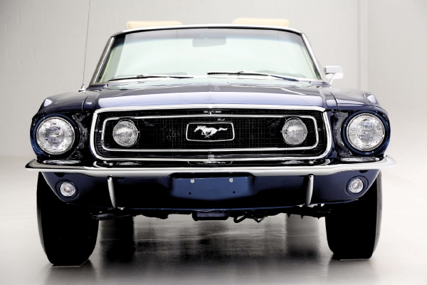 For Sale Used 1968 Ford Mustang Convertible GT, S-Code 390 GT | American Dream Machines Des Moines IA 50309