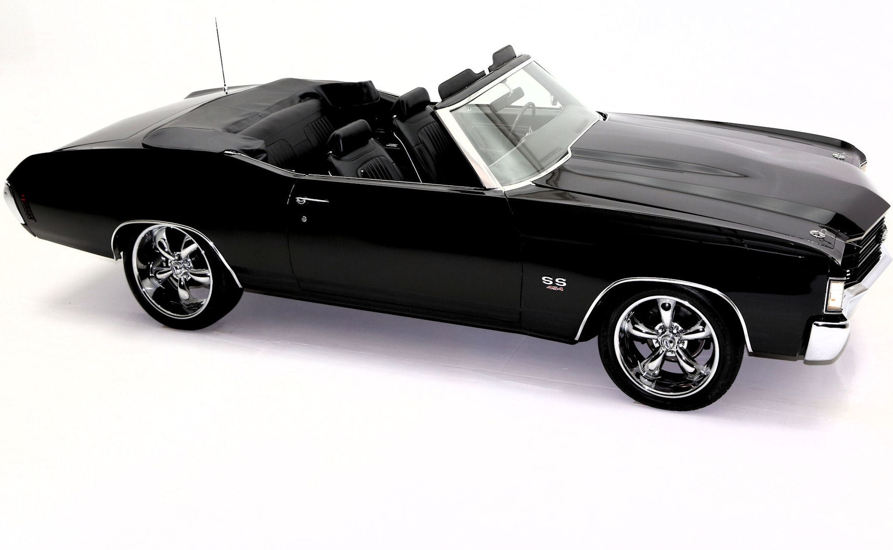 Chevrolet Chevelle Convertible Black Speed American