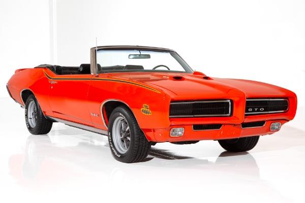 1969 Pontiac GTO Hidden Headlights 4-speed PHS