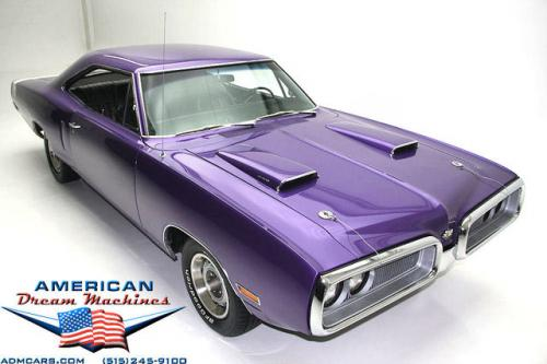 For Sale Used 1970 Dodge SUPER BEE 440 727, PLUM CRAZY Hardtop | American Dream Machines Des Moines IA 50309