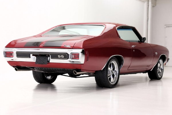 For Sale Used 1970 Chevrolet Chevelle Brandywine 454 SS options | American Dream Machines Des Moines IA 50309