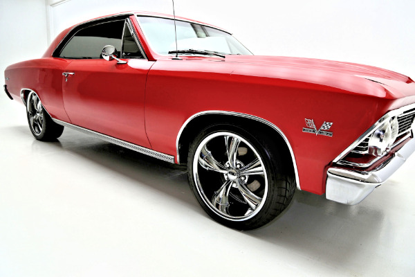 1966 Chevrolet Chevelle Torch Red Pro Tour 454