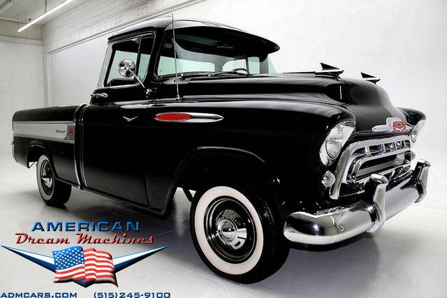 For Sale Used 1957 Chevrolet Cameo Pickup Pickup | American Dream Machines Des Moines IA 50309
