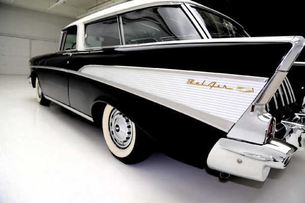 1957 Chevrolet Nomad Onyx Black, very original