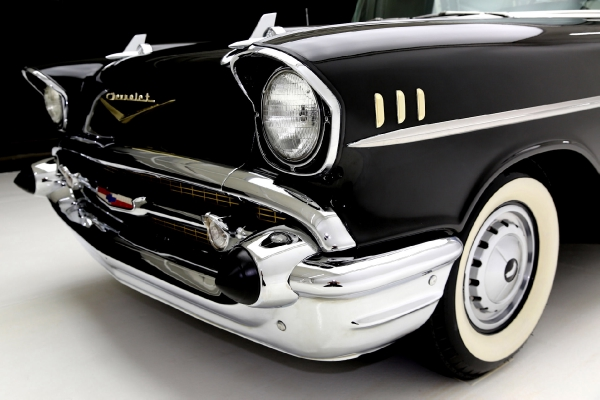 For Sale Used 1957 Chevrolet Nomad Onyx Black, very original | American Dream Machines Des Moines IA 50309