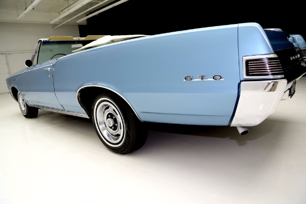 For Sale Used 1965 Pontiac Lemans Convertible GTO options, AC, | American Dream Machines Des Moines IA 50309