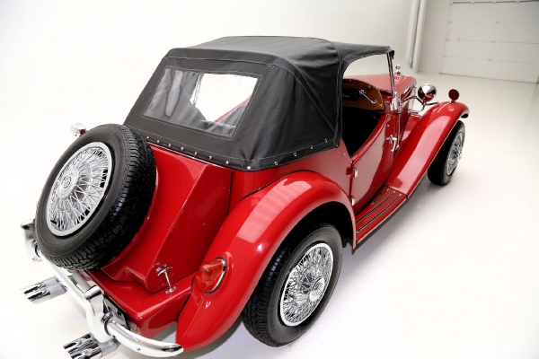 For Sale Used 1952 MG TD convertible replicar Red black interior & top nice | American Dream Machines Des Moines IA 50309