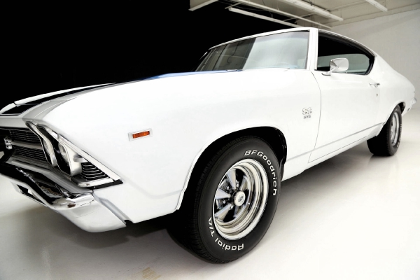 For Sale Used 1969 Chevrolet Chevelle Built 355 SS Stripes Cold A/C | American Dream Machines Des Moines IA 50309