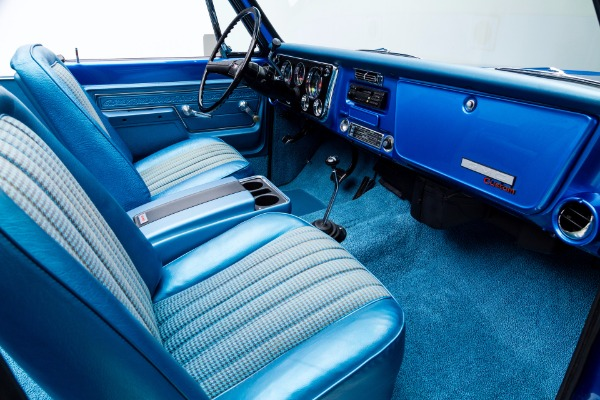 For Sale Used 1972 GMC Jimmy Sapphire Blue Metallic 454 A/C | American Dream Machines Des Moines IA 50309