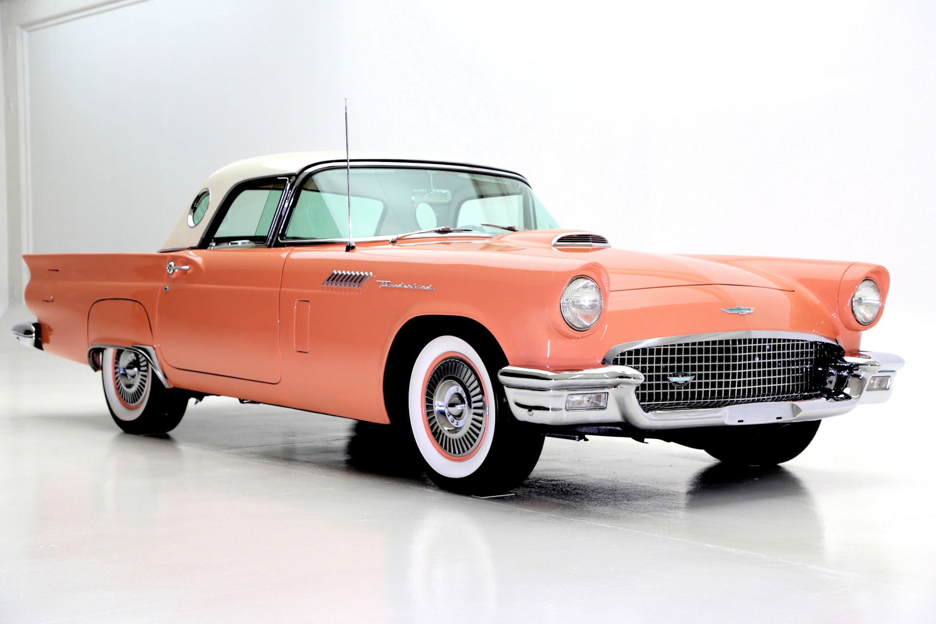 1957 Ford Thunderbird Convertible Coral Sand 312ci