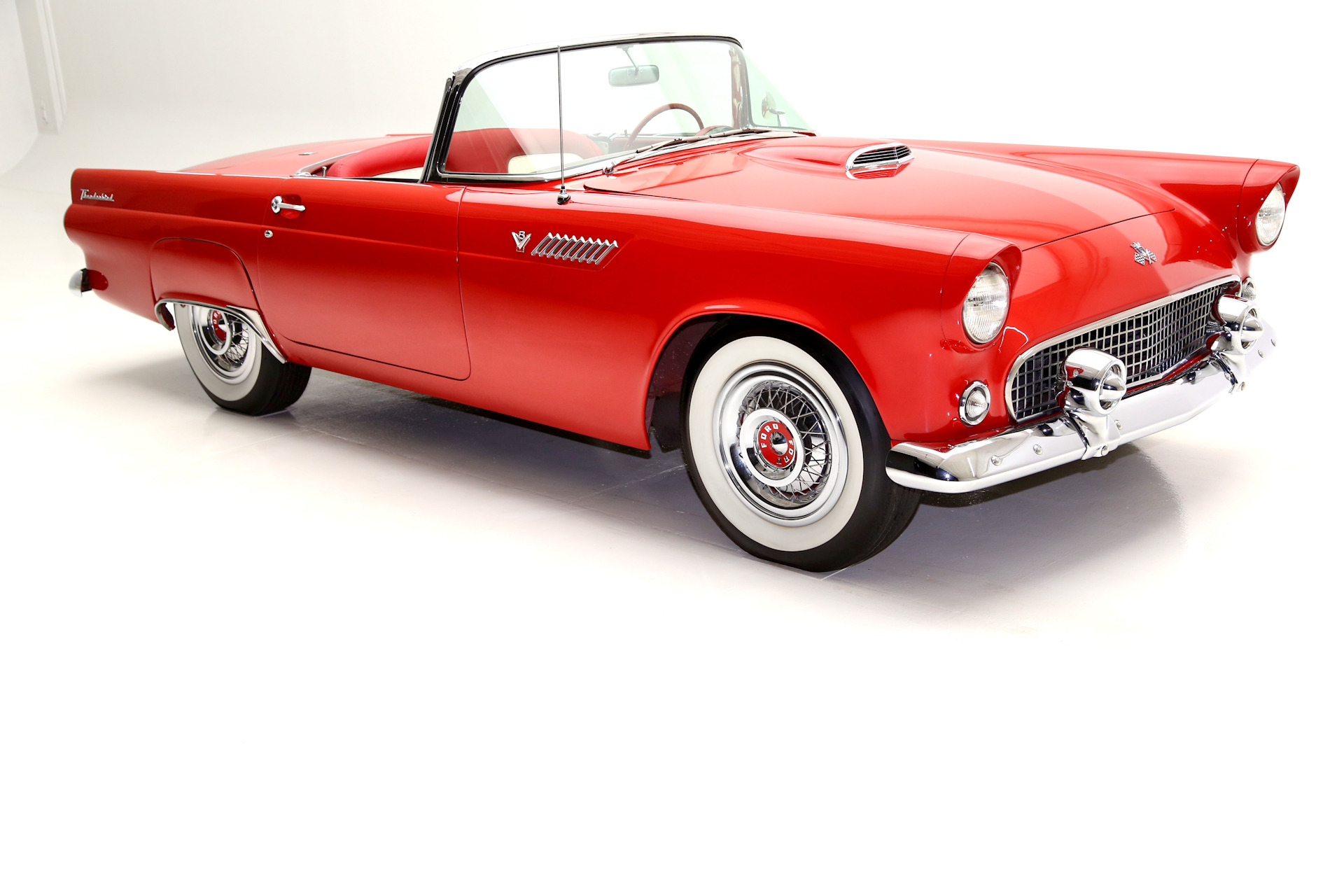 1955 Ford Thunderbird Convertible 2 tops V8  sc 1 st  American Dream Machines & 1955 Ford Thunderbird Convertible 2 tops V8 - American Dream ... markmcfarlin.com