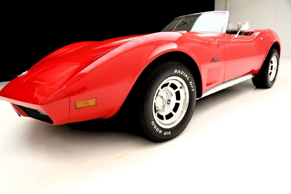 For Sale Used 1974 Chevrolet Corvette Convertible High hp L82 | American Dream Machines Des Moines IA 50309