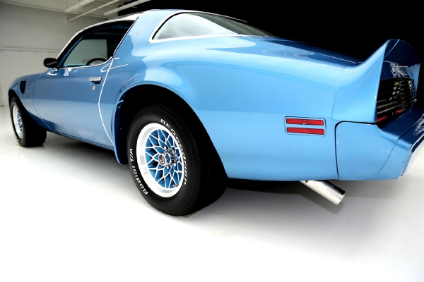 For Sale Used 1979 Pontiac Trans Am Blue Metallic 455/375, T-top AC,4spd | American Dream Machines Des Moines IA 50309
