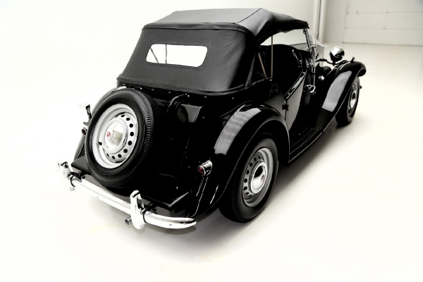For Sale Used 1952 MG TD Roadster Black, Nice | American Dream Machines Des Moines IA 50309