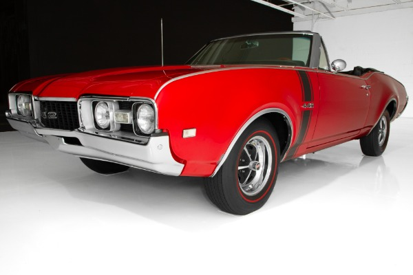 For Sale Used 1968 Oldsmobile 442 Convertible, 455, 4-Speed | American Dream Machines Des Moines IA 50309
