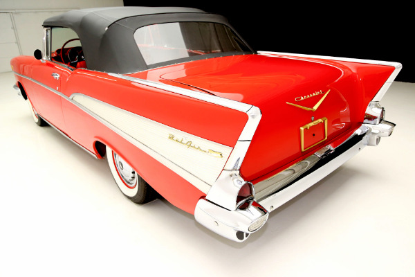 For Sale Used 1957 Chevrolet Bel Air Gorgeous undercarriage | American Dream Machines Des Moines IA 50309