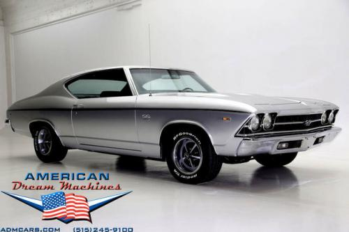 For Sale Used 1969 Chevrolet Chevelle True SS 396 4-speed SS 396 | American Dream Machines Des Moines IA 50309